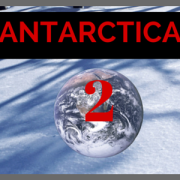 Tractor Girl auf Antarctica2 Expedition