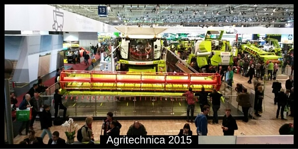 Agritechnica 2015 Claas Messestand Hannover
