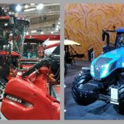 Autonome Traktoren Case IH und New Holland