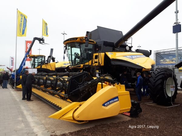 New Holland Landtechnik agra